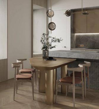 豪华型130平米三室两厅现代简约风格餐厅图片大全