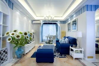 富裕型90平米地中海风格客厅效果图