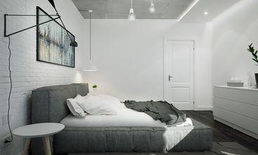 经济型80平米一室两厅工业风风格卧室图片大全