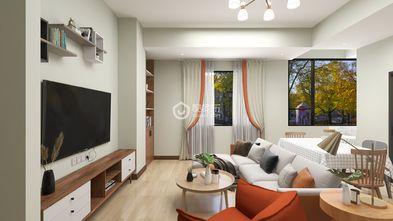 90平米四室两厅北欧风格餐厅欣赏图