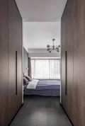 经济型140平米四室两厅中式风格衣帽间图