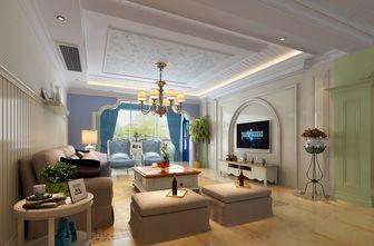 20万以上140平米复式地中海风格客厅图