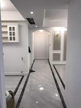 5-10万100平米三室两厅现代简约风格走廊图