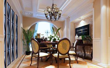豪华型140平米四美式风格餐厅图