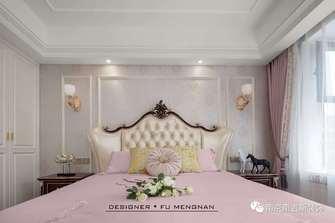 经济型130平米四室两厅欧式风格卧室设计图