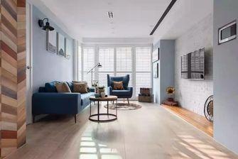 20万以上90平米田园风格客厅装修图片大全