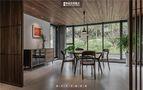 豪华型140平米别墅田园风格餐厅图