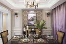 三室一厅英伦风格餐厅设计图