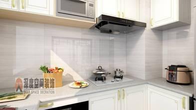5-10万90平米中式风格厨房欣赏图