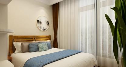 富裕型90平米三室三厅混搭风格卧室装修效果图