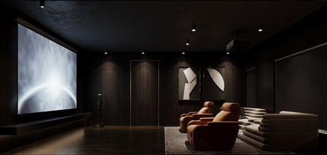 3万以下140平米复式欧式风格影音室装修案例