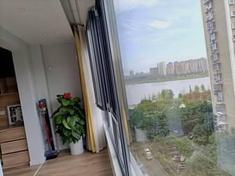 100平米三室两厅北欧风格阳台装修效果图