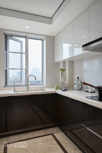 140平米四室三厅混搭风格厨房设计图
