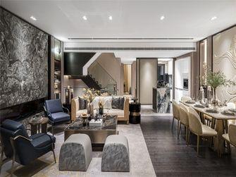 豪华型140平米四室两厅工业风风格餐厅图