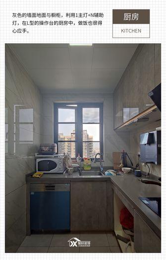 10-15万120平米四室两厅轻奢风格厨房设计图