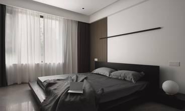 富裕型110平米三室一厅现代简约风格卧室欣赏图