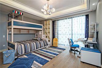 140平米四室三厅美式风格青少年房图片