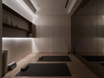 140平米四室两厅现代简约风格健身房装修案例