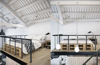 经济型40平米小户型美式风格卧室装修效果图