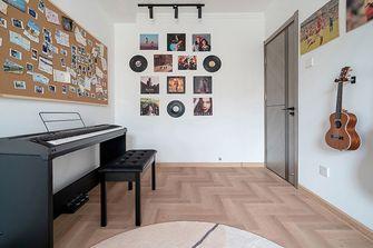 富裕型70平米三室一厅现代简约风格影音室图片大全