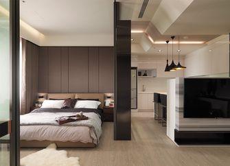 经济型40平米小户型现代简约风格卧室效果图
