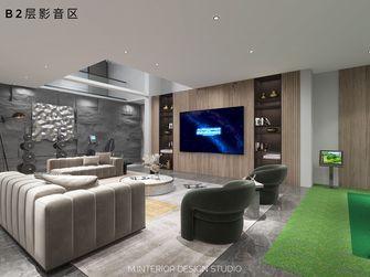 豪华型140平米别墅现代简约风格影音室欣赏图