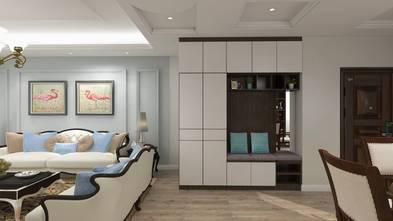 120平米三室三厅美式风格玄关效果图
