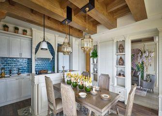 富裕型公寓新古典风格餐厅装修案例