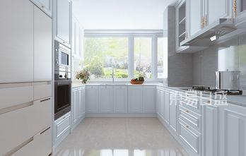 豪华型130平米三室两厅美式风格厨房设计图