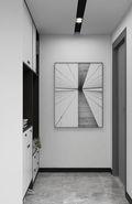 120平米三室一厅现代简约风格玄关装修案例