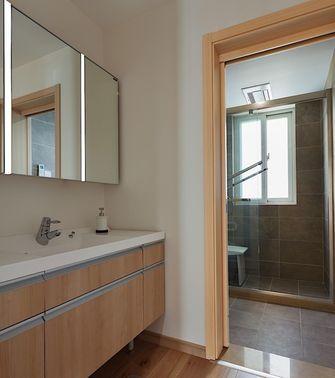 100平米三室一厅日式风格卫生间效果图