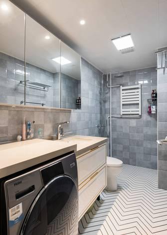 20万以上140平米三室一厅新古典风格卫生间设计图