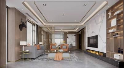 140平米别墅港式风格客厅效果图