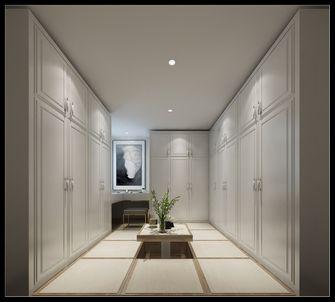 经济型130平米三室三厅现代简约风格衣帽间装修案例