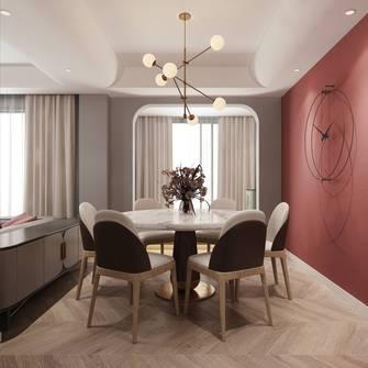 经济型三室两厅混搭风格餐厅欣赏图