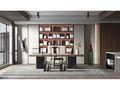 豪华型140平米四中式风格书房图片大全