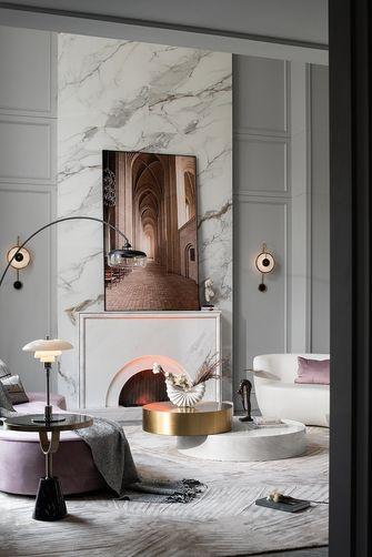 140平米别墅法式风格客厅装修图片大全