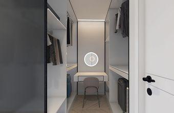 经济型80平米三室一厅现代简约风格衣帽间装修效果图