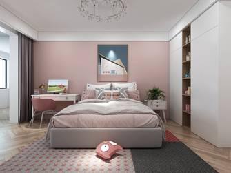 140平米三中式风格青少年房效果图
