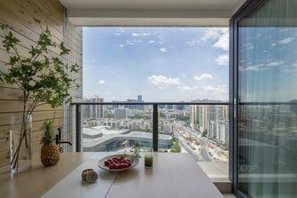 5-10万60平米三室两厅现代简约风格阳台图片