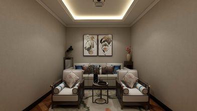豪华型140平米复式中式风格书房图片