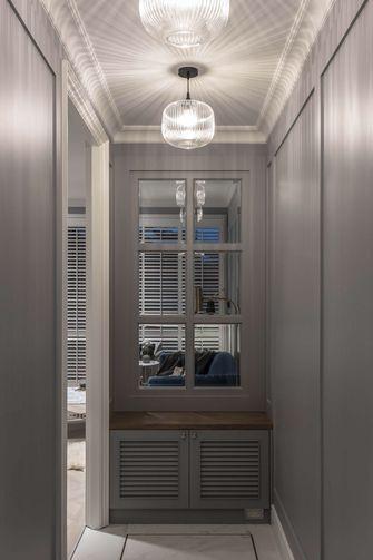 5-10万80平米三室一厅美式风格玄关设计图