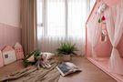 富裕型110平米一室一厅混搭风格卧室装修图片大全