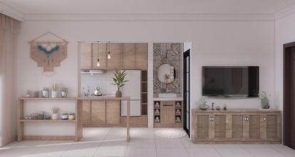 50平米一居室东南亚风格客厅装修图片大全