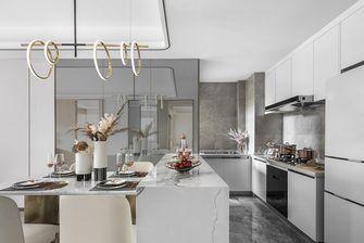 富裕型140平米三室两厅港式风格厨房图片