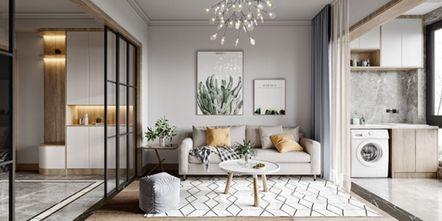20万以上130平米三室两厅美式风格客厅装修图片大全