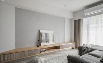 富裕型60平米欧式风格客厅图