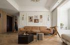 10-15万90平米三室两厅法式风格客厅欣赏图