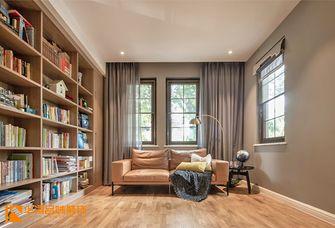 20万以上140平米别墅轻奢风格书房欣赏图