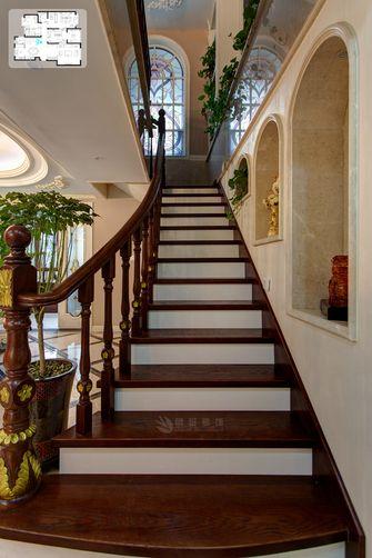 富裕型140平米复式欧式风格楼梯间设计图